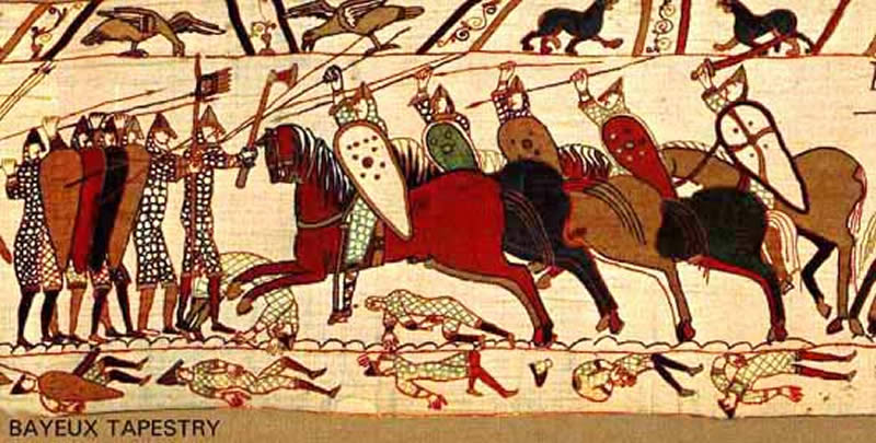 By Dan Koehl - Tapestry de Bayeux, CC BY-SA 3.0, https://commons.wikimedia.org/w/index.php?curid=658776