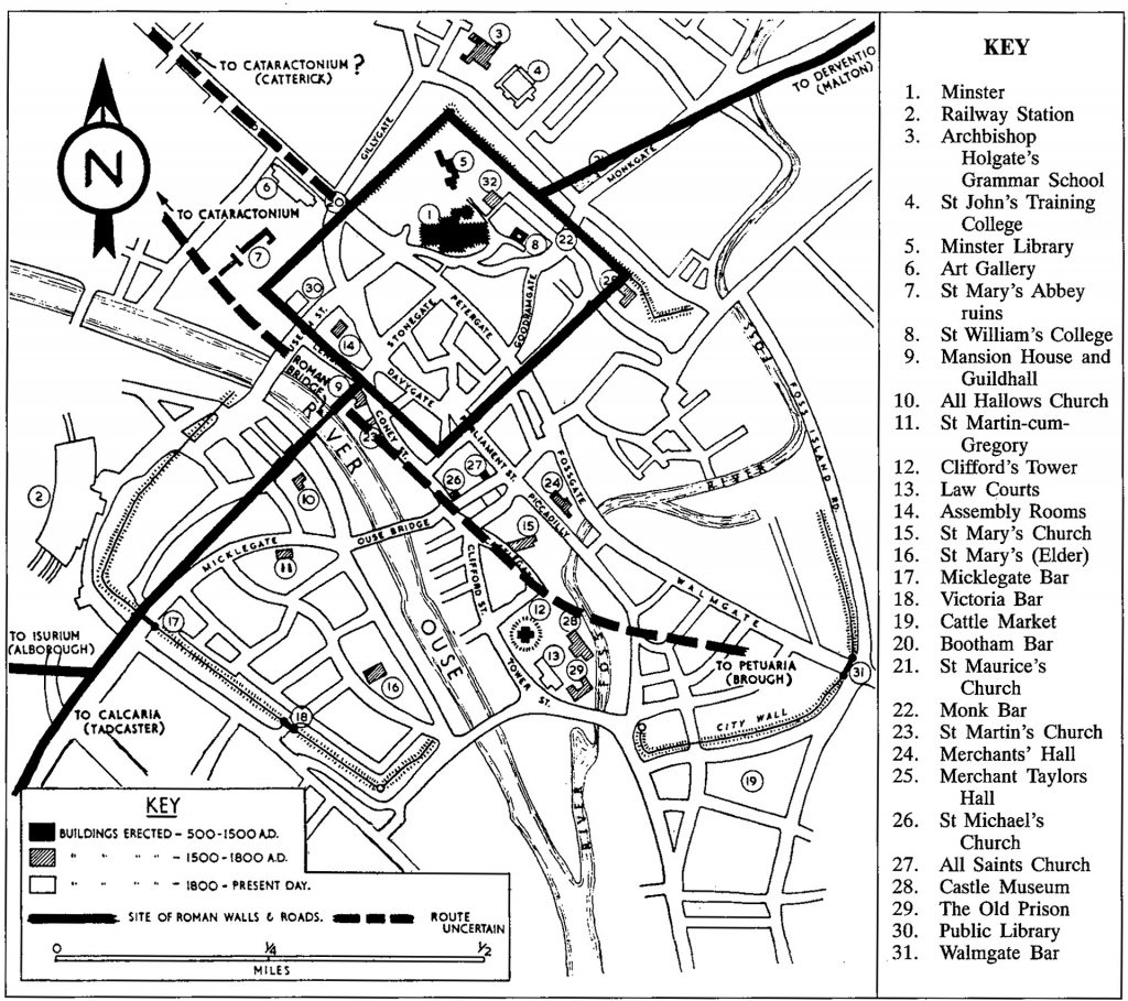 The City of York: from Roman times to the present day