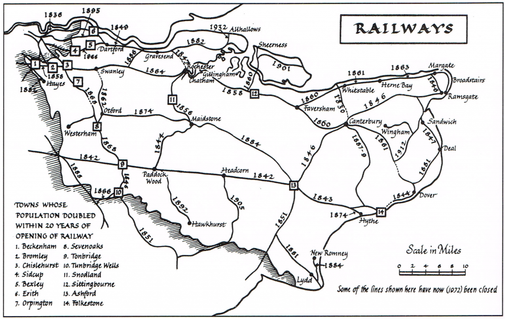 Railways in Kent