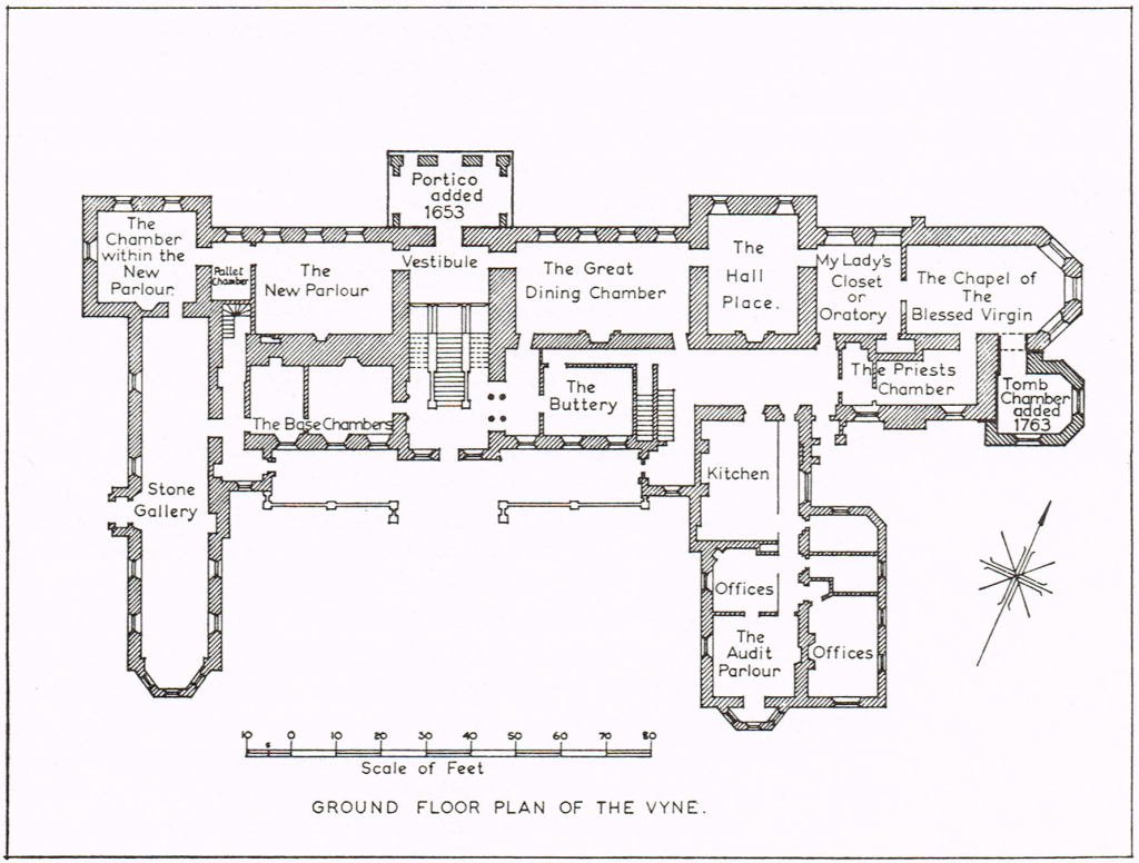 The Vyne, ground floor, c. 1540Hampshire