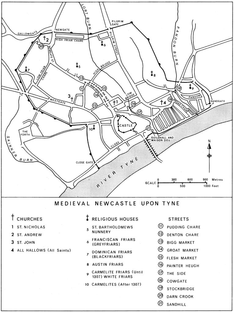 Medieval Newcastle