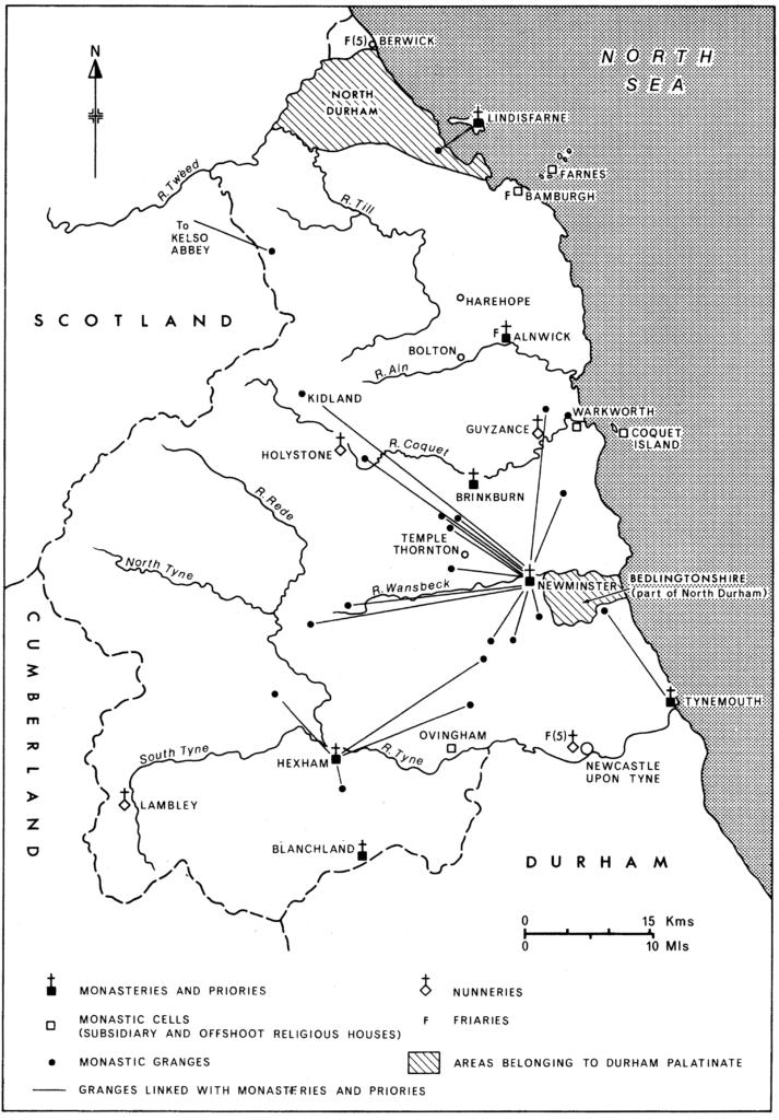 Monastic Northumberland