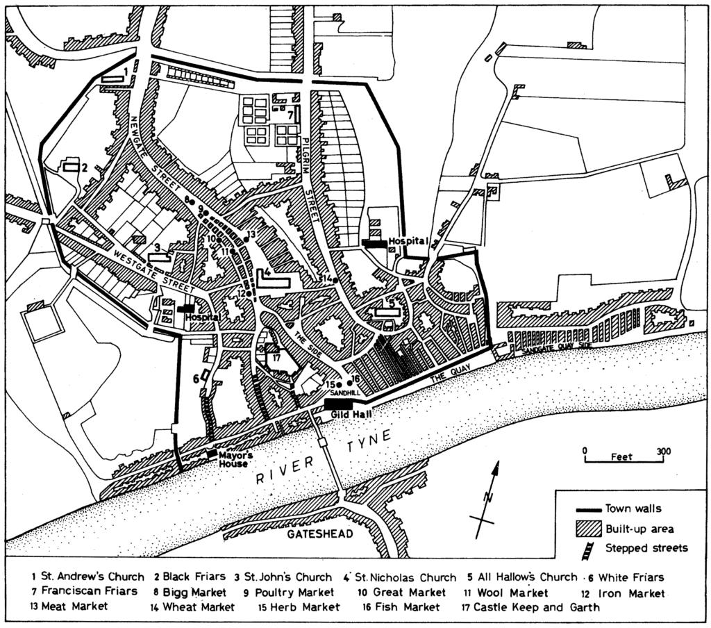 Newcastle in 1723
