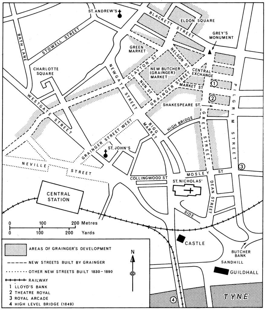 The Newcastle of Grainger & Dobson Northumberland