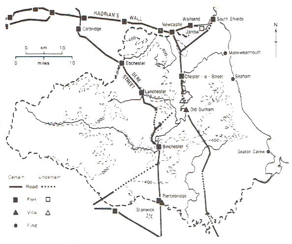 Roman County Durham