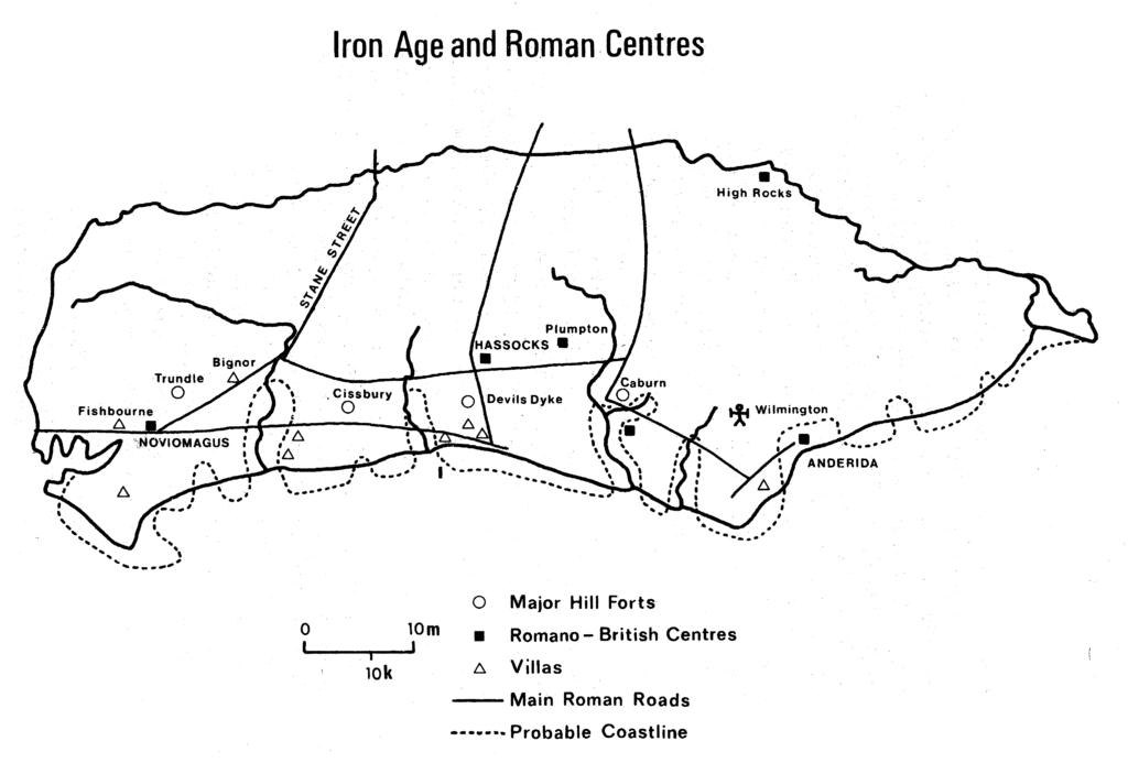 Iron Age and Roman Centres