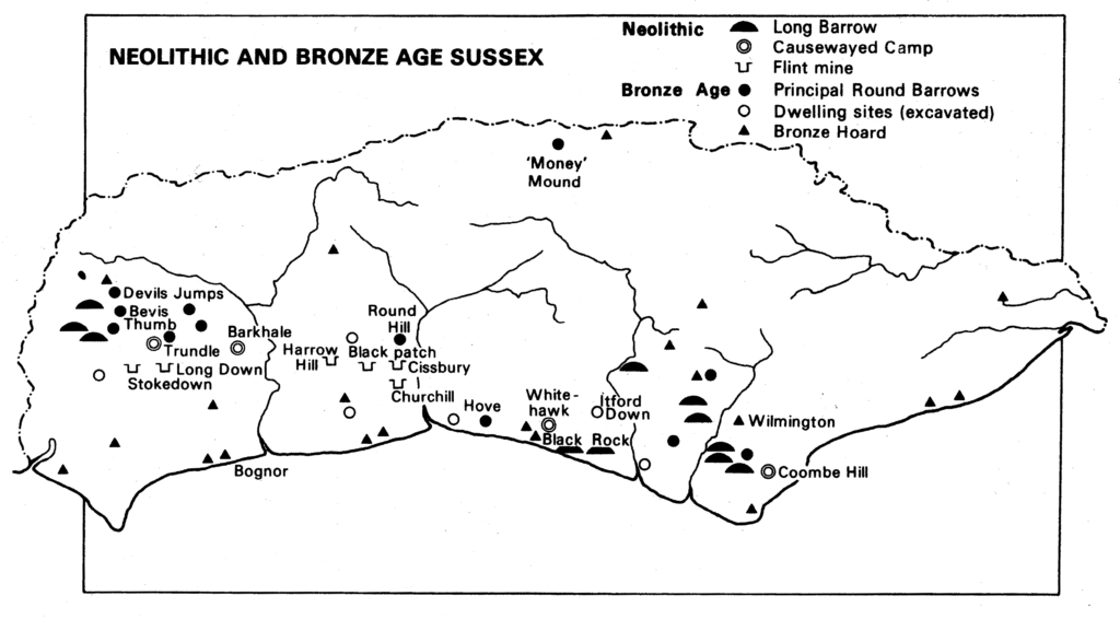 Neolithic and Bronze Age Sussex