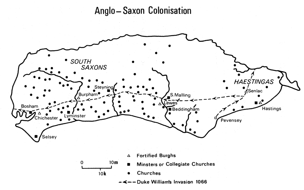 Anglo Saxon Colonisation