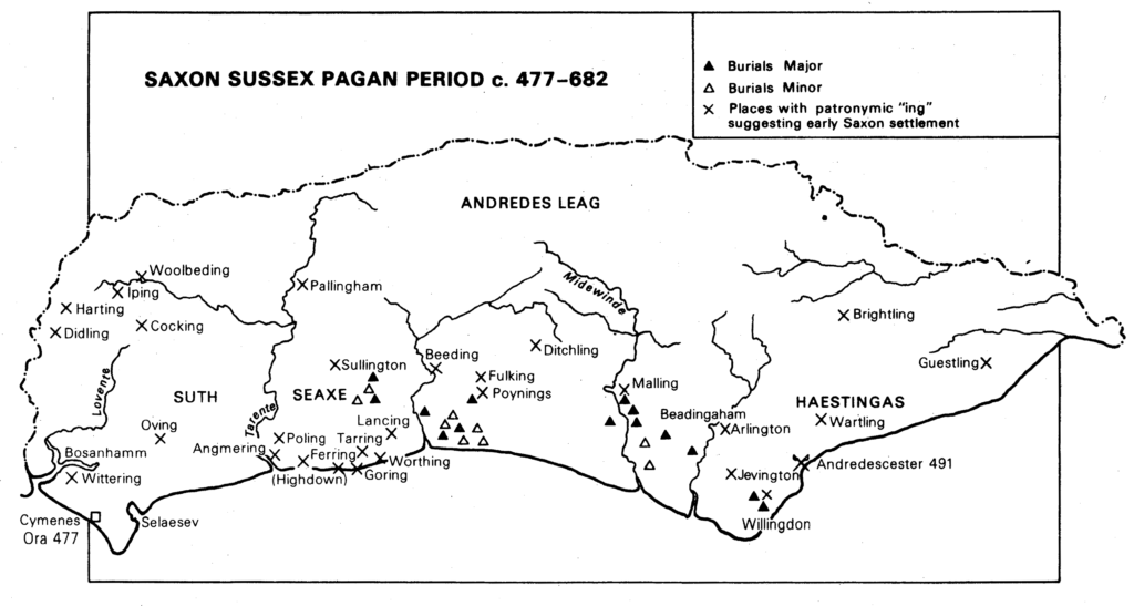 Saxon Sussex Pagan Period
