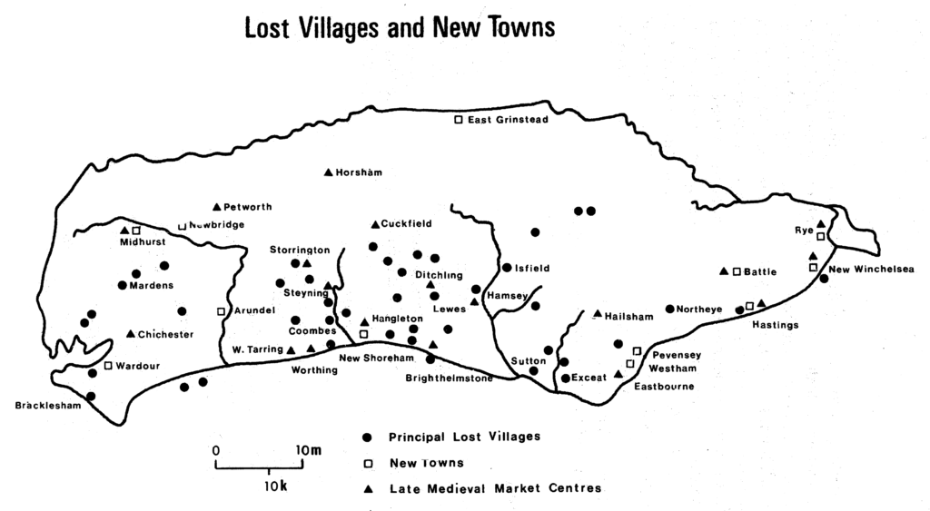 Lost Villages & New Towns